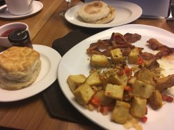 Excellent all round, great breakfast's!