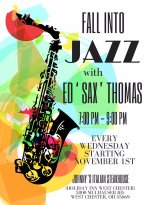 Live Jazz every Wednesday and Friday!!! Come on by the music is GOOOD>