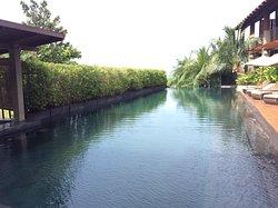 식당과 수영장