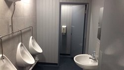 Brand new gents toilets