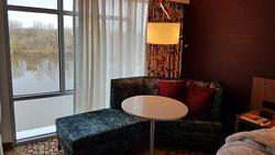 Standard King Harborview room.