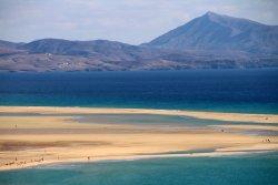 Playa de Sotavento (Playa Risco del Paso y Playa Barca)