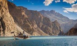 Atta'abad Lake-Hunza Valley