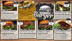 Unsere 100% hausgemachten Premium-Burger