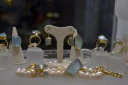 Our original rough Aquamarine collection.Made with love for smiling people!!!