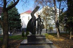 Monument to Vysotskiy