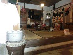 昭和の民家の茶の間です