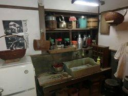 昭和の民家の台所です