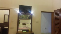 Dressing Table & LED TV with satellite channels