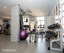 Fitness Center at the Angleterre Hotel