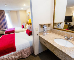 The Double Queen Guestroom at the Inn At Santa Fe