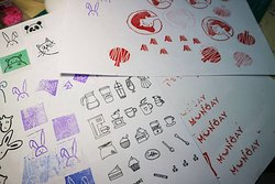 Mila Craft Workshop (Rubber stamp and Making Bath Bombs)
