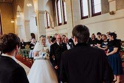 Wedding day visit
