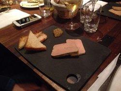 Foie gras as starter