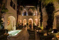 The gorgeous inner courtyard.