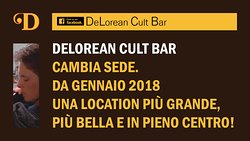 Delorean Cult Bar Coffee & Sounds