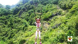 Feel the adrenaline trying ZIP-LINING ans ABSEILING in our base-camp!