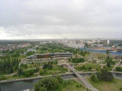 Observation Deck of National Library of Belarus