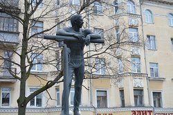 Monument to Gymnast Adrianov