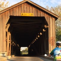 Hunsecker Mill Covered Bridge