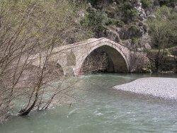 Γεφύρι Πορτίτσα, Σπήλαιο Γρεβενά