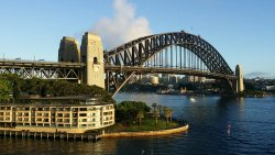De Sydney Harbour Bridge