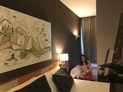Cosy comfortable convenient hotel