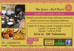 The Grace of Kalbarri Indian Cuisine