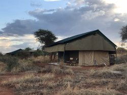 Excellent tented camp with the comforts of home!