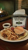 Pot Roast Sandwich and hand cut AWARD WINNING Fries! Yummy for the tummy!
