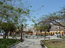 Plaza de Armas de Lunahuana