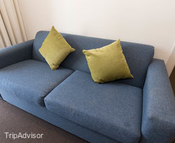 The One Bedroom Apartment with Balcony and Shower at the Amity Apartment Hotels – South Yarra