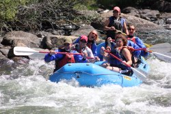 Rafting the Upper Taylor River