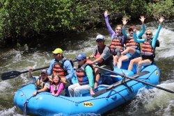 Rafting the Lower Taylor River