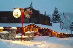 Main Office & Store at Christmas