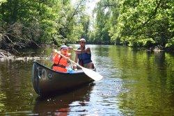 Canoe trail Helge Å