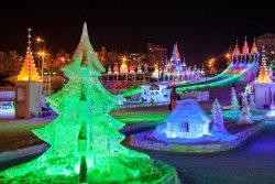 Khrustalnaya Skazka Ice Town
