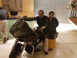 Amazing Dinner and my Dream Bike Harley Davidson