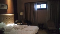 Bon hôtel, mais petite fenêtre