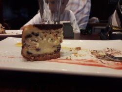 Spanish Octopus and a Cheesecake