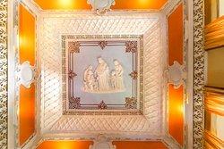 Tecto do Salão de Estar Rainha Santa Isabel