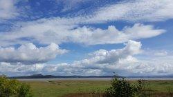View across Morecambe Bay.