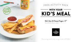 Kids Ham & Cheese Fingers