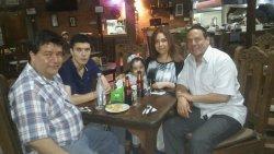 con la familia!!!!