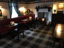 Our lovely restaurant area