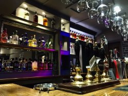 The newly refurbished Gin & Vodka bar