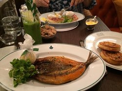 Kippers for breakfast - nice change from the norm...