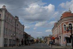Pedestrianized street