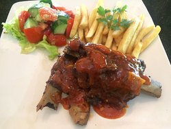 USA PORK RIBS with BBQ SAUCE