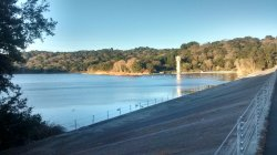 Lafayette Reservoir from south end of dam